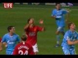 МЮ Англия 1-2 Зенит Россия 2008 г.супер кубок УЕФА