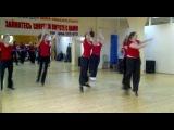 выступление группы по фитнес-аэробике под руководством Анны Черенковой